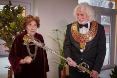Brněnská JAMU udělila čestný doktorát Vlastě Chramostové